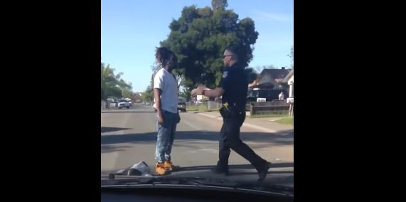 Caught on Camera: Sacramento man beaten by police for jaywalking