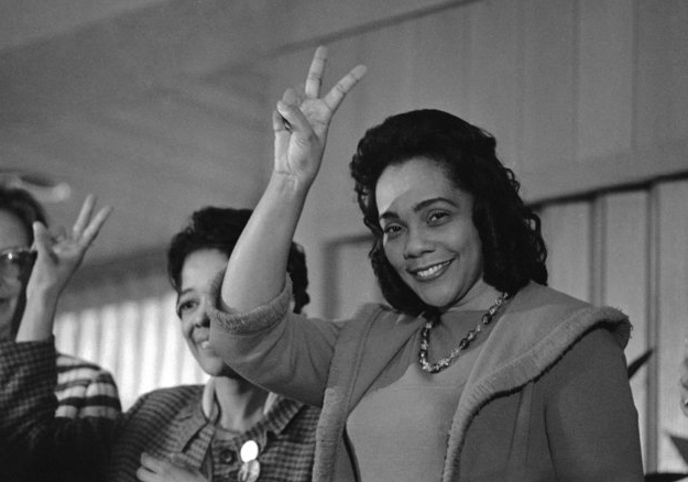 A Woman Of Strength And Justice Happy Birthday Coretta