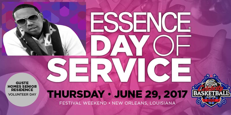 """Essence partners with Master P, """"Team Hope NOLA"""" for charity celebrity B-Ball game for festival"""