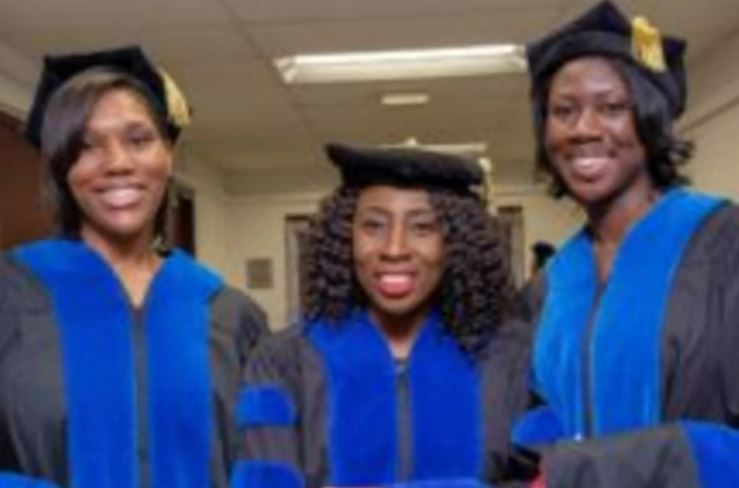 3 Black women become first in 50 years to receive Ph.D.s from North Carolina Central University