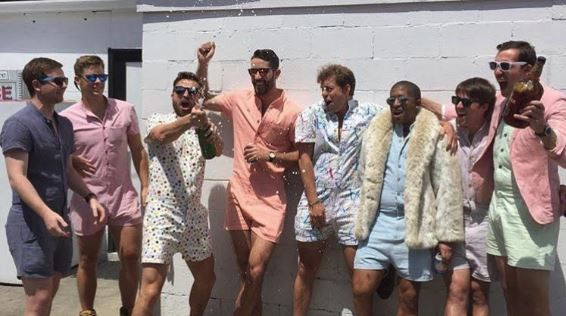 The Romphim has taken over! Would you like to see your man in a romper?