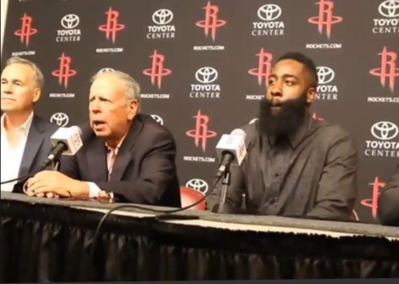 Got a couple hundred million dollars lying around perhaps? Buy the Houston Rockets!