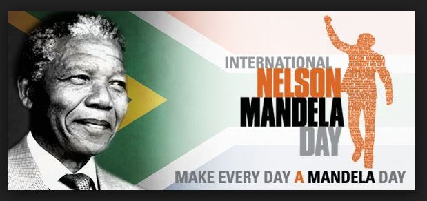 In honor of the great one, we celebrate Nelson Mandela Day