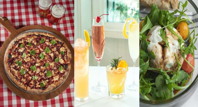 From brunch to happy hour, check out what's news at Cafe Azur, Radio Milano and Grimaldi's Pizzeria