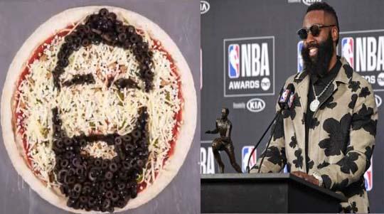 Rockets James Harden Named NBA MVP; Papa John's offering pizza deal on Tuesday
