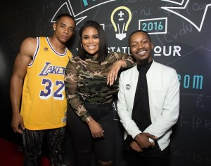 Cordell Broadus Nina Parker and Chris Grace