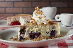 Strawberry Blueberry Cheesecake